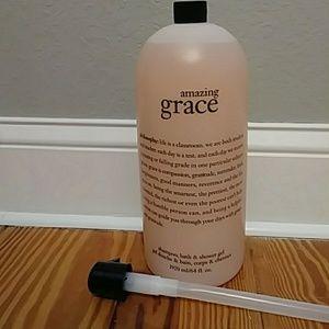 JUMBO 64 oz Philosophy Shampoo, bath, shower gel
